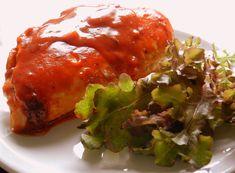 Pitadinha: Peito de frango recheado