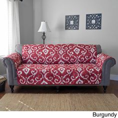 Adalyn Collection Printed Reversible Furniture Protector Products Furniture And Printed