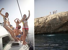 Greek island of Syros + cliff jumping