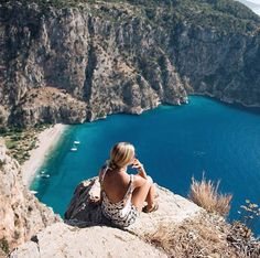 Butterfly Valley - the view to die for :-) #Oludeniz #Fethiye #Turkey