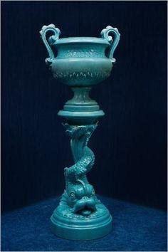 Delphin massier 1836 1907 colonne en faience de vallauris ceramic pinterest vallauris - Magie corps coupe en deux ...