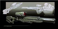 GOW Snipe, James Hawkins on ArtStation at https://www.artstation.com/artwork/5BZ11