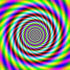This is what my eyes can see during certain types of aura migraine.