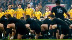 Fearsome All Black Haka at the RWC 2015 with Wallabies. Will definitely miss this awesome mementos till meet up in Japan 2019 for next RWC.