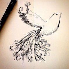 Zentangle Tattoo Animal Draw Zentangle Animal