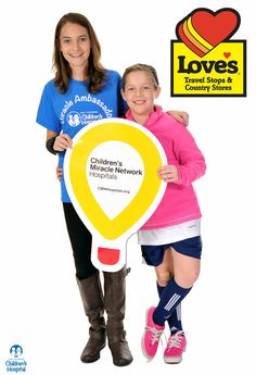 September 2014: Love's Travel Centers in Lenoir City and Dandridge will run a 5 week fundraising campaign throughout September benefit East Tennessee Children's Hospital. Customers visiting this location will be asked to make a contribution to benefit Children's Hospital by purchasing a miracle balloon and/or participating in local events such as bake sales, barbeques, and much more.