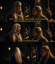 Images For > Thranduil The Hobbit Tumblr <----- Hahahaha!!!