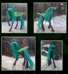 Chrysalis Custom 3 by kaizerin.deviantart.com on @DeviantArt #mylittlepony #breezie #chrysalis #luna #celestia #pinkiepie #rainbowdash #discord #rarity #derpy #custom #g4 #applejack