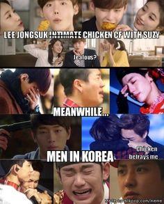 Lee Jongsuk looks good with Suzy | allkpop Meme Center