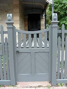 Heritage Fencing .Fence Gallery - Federation / Late Victorian 1900 - 1910