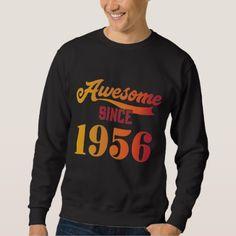 Vintage 62nd Birthday Tee. Costume For Men/Women. Sweatshirt - birthday gifts party celebration custom gift ideas diy