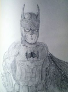 Batman drawing by Jacob S.