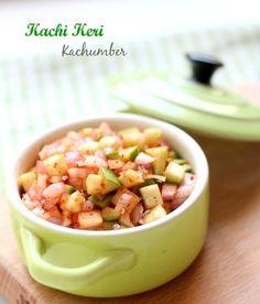 Kachi Keri Kachumber, Raw Mango Salad (Green Mango)