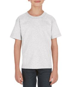 Ash - 3381 Alstyle Classic Youth Tee | T-shirt.ca