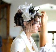Gorgeous veil!