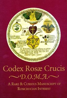 Currently unavailable - I would so love to have this hardcover book but it is very 'pricey' and I may never be able to purchase it... bummer... Codex Rosae Crucis, D.O.M.A. A Rare & Curious Manuscript of Rosicrucian Interest. by Manly P. Hall http://www.amazon.com/dp/0893144045/ref=cm_sw_r_pi_dp_GrMSvb0ZNWSC3