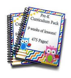 Full preschool curriculum! Everything you need to teach your preschooler at home! This curriculum makes it easy to homeschool preschool!