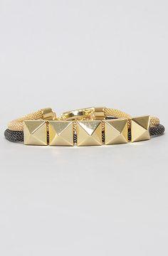 #misskl #winyourpin   The nOir x l.a.m.b Stud Bracelet by nOir