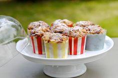 Muffins ultra gourmands aux framboises avec un streusel croustillant (recette de Bob)
