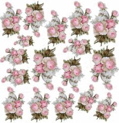 Decoupage Vintage, Decoupage Jars, Decoupage Printables, Paper Napkins For Decoupage, Images Vintage, Flower Clipart, Flower Images, Vintage Labels, Rice Paper