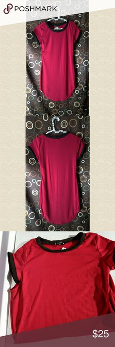 SALE🔥New With Tags Red and Black Dress New with tags Red an Black dress Size extra large Super cute with Christmas coming up could pair with leggings and cute boots. Dresses