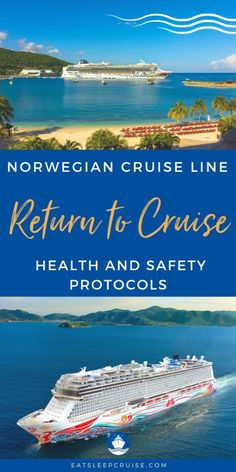 All the Details of Norwegian Cruise Line's Sail SAFE Program - NCL outlines its plan to restart cruising on July 4th from the United States as well as Norwegian Gem, Norwegian Joy, and Norwergian Jade cruises from outside the United States. We highlight all the details of Norwegian Cruise Line's new Sail SAFE program to ensure guest health and safety onboard these cruises. Cruise Checklist, Packing List For Cruise, Cruise Tips, Cruise Vacation, Cruise Excursions, Cruise Destinations, Safe Program, Cruise Ship Reviews, Cruise Pictures