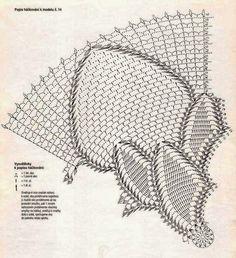 Crochet and arts: tablecloth