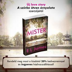 Jegyzed elő @erikaljames (a Szürke ötven árnyalata szerzőjének) új love storyját, a Mistert! Link ➡️ a bioban! ❤️💣💋 A Mister egy 21.…
