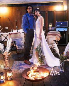グランピングフォトウェディング&藤乃スイートステイプランの撮影イメージ Lace Wedding, Wedding Dresses, Glamping, Outdoor Decor, Fashion, Bride Dresses, Moda, Bridal Gowns, Fashion Styles