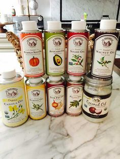 Enter for a chance to win 9 bottles of the purest nut and seed oils on the market from La Tourangelle