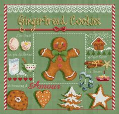 click here to view larger image of Gingerbread (chart)