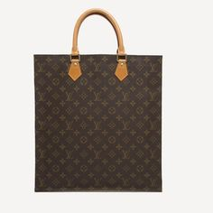 Louis Vuitton Sac Plat Monogram Canvas Gm Brown Tote Bag. Get one of the hottest styles of the season! The Louis Vuitton Sac Plat Monogram Canvas Gm Brown Tote Bag is a top 10 member favorite on Tradesy. Save on yours before they're sold out!