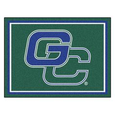 Ncaa - Georgia College Green 10 ft. x 8 ft. Indoor Rectangle Area Rug