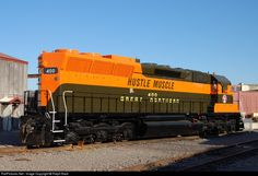 RailPictures.Net Photo: GN 400 Great Northern EMD SD45 at Saint Paul, Minnesota by Ralph Back
