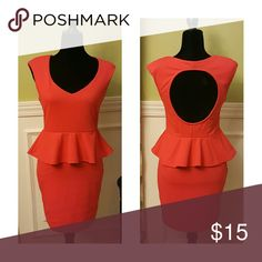 💕Make An Offer💕 Poof Couture Peplum Dress Poof Couture Dress in Great Condition Poof! Dresses