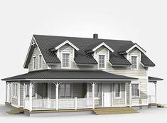 New England Hus, German Houses, Style Cottage, Home Fashion, House Plans, Villa, Coast, New Homes, Farmhouse