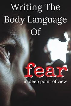 Creative Writing 841539880351323107 - The key to writing the body language of fear is answering WHY for readers. Creative Writing Tips, Book Writing Tips, Writing Resources, Writing Prompts, Improve Writing, Writing Help, Writing Skills, Writers Notebook, Writers Write