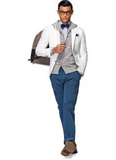 white jacket?