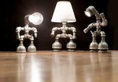 lamps, cd #lamp #idea