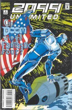2099 Unlimited (1993) #7 Doom Fantastic Four Marvel comics cover Silver Surfer cover