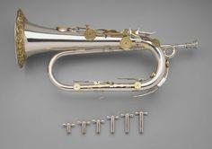 Keyed bugle in B-flat | Museum of Fine Arts, Boston