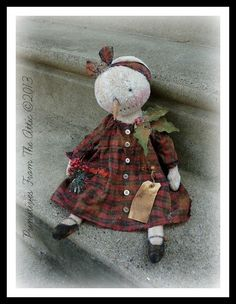 little girl snowman w/ ribbon headband
