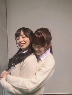 Lgbt, No Boys Allowed, Cute Lesbian Couples, Girl Couple, Cute Japanese Girl, Teacher Style, Japan Girl, Best Friend Goals, Poses