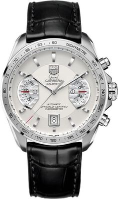 """""""The Tag Heuer's men's best time piece in my opinion is Grand Carrera Calibre 17. """" - Kaloyan Dimitrov 