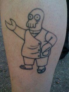 Zoidberg Tattoo