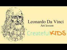 Leonardo Da Vinci --Art Lesson for Kids! - YouTube I like the first half of the video with Da Vinci history