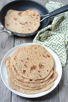 Made with just 4 ingredients, this recipe for Homemade Whole Wheat Tortillas is easy to make and tastes way better than store-bought! snacks with tortillas Homemade Whole Wheat Tortillas Recipe Recipes With Flour Tortillas, Whole Wheat Tortillas, Homemade Tortillas, Flour Recipes, Cooking Recipes, Cooking Tips, Healthy Food Habits, Healthy Diet Recipes, Healthy Foods To Eat