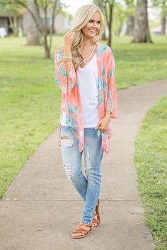 Paradise Point Kimono - The Pink Lily