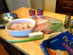 The Way Grandmama Does It: Crockpot Turkey Breast and Turkey Pot Pie Recipes