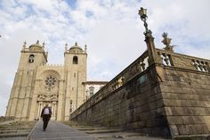 A Perfect Long Weekend in Porto   Via The Wall Street Jounal   20/11/2014 From medieval architecture to modern art, the historic heart of port production has it all The Romanesque Porto Cathedral is one of the city's dominant sights. #Portugal